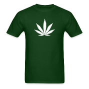 weed marijuana cannabis drugs leaf T-Shirts