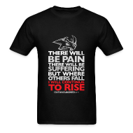 T-Shirts ~ Men's Standard Weight T-Shirt ~ There will be pain | CutAndJacked | Mens tee
