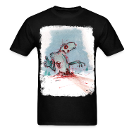 T-Shirts ~ Men's Standard Weight T-Shirt ~ Tundra Zombie
