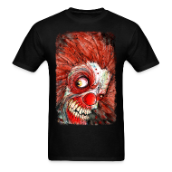 T-Shirts ~ Men's Standard Weight T-Shirt ~ zombie clown