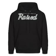 Hoodies ~ Men's Hooded Sweatshirt ~ Cali Raised