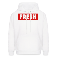 Hoodies ~ Men's Hooded Sweatshirt ~ Fresh