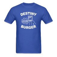 T-Shirts ~ Men's Standard Weight T-Shirt ~ Destiny Burger - White (Men's)
