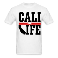 T-Shirts ~ Men's Standard Weight T-Shirt ~ Cali Life