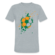 T-Shirts ~ Men's Tri-Blend Vintage T-Shirt ~ Football Explosion