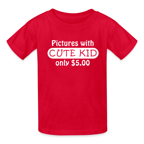 Selfies Pictures with Cute Kid Only $5.00 - Kid's Shirt