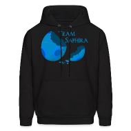 Hoodies ~ Men's Hooded Sweatshirt ~ Team Saphira! Unisex Hoodie (Hooded Sweatshirt)
