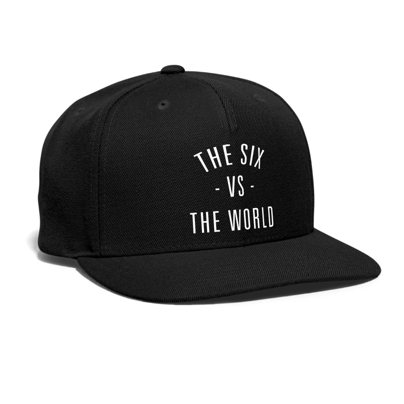 The Six vs. The World - Snap-back Baseball Cap