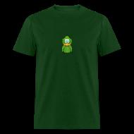 T-Shirts ~ Men's T-Shirt ~ Basic Adiumy Green-on-Green