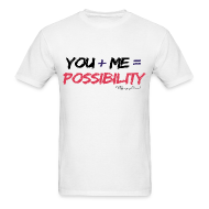 T-Shirts ~ Men's Standard Weight T-Shirt ~ Possibility