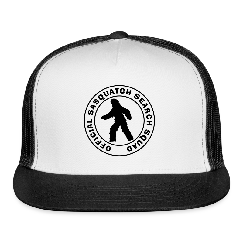 Official Sasquatch Search Squad Bigfoot Trucker Cap