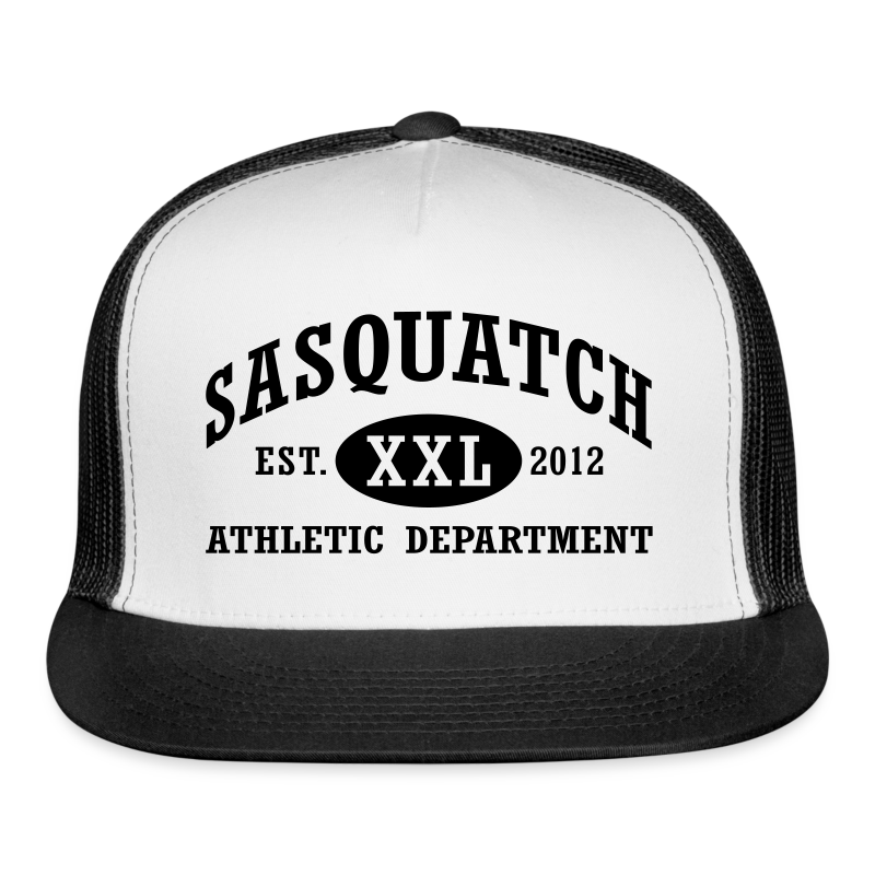 Sasquatch Athletic Department Bigfoot Trucker Cap