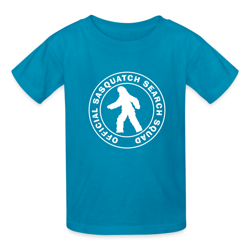 Official Sasquatch Search Squad Kids Shirt