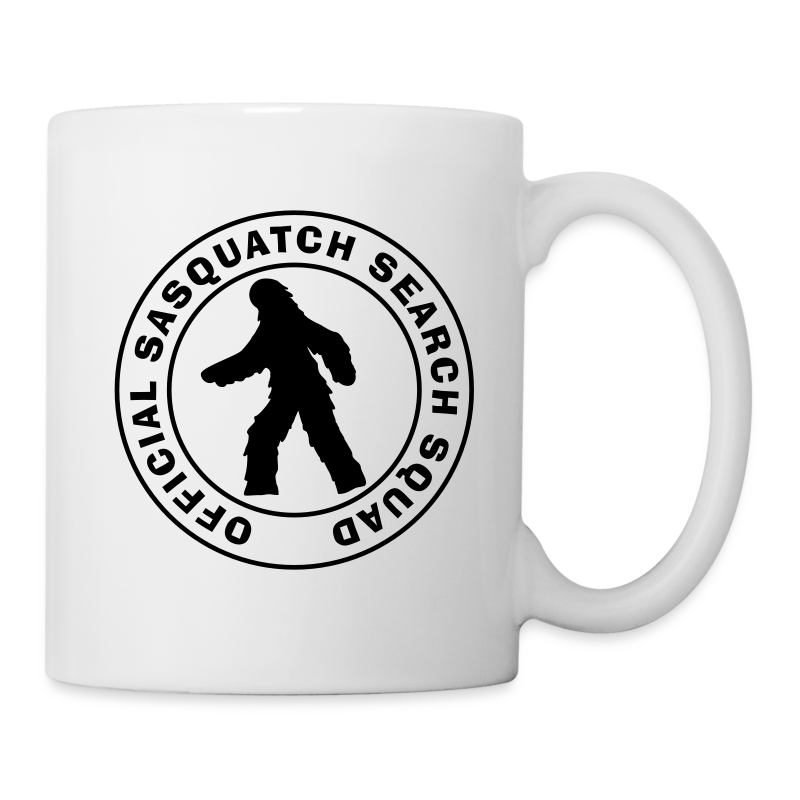Official Sasquatch Research Squad Mug