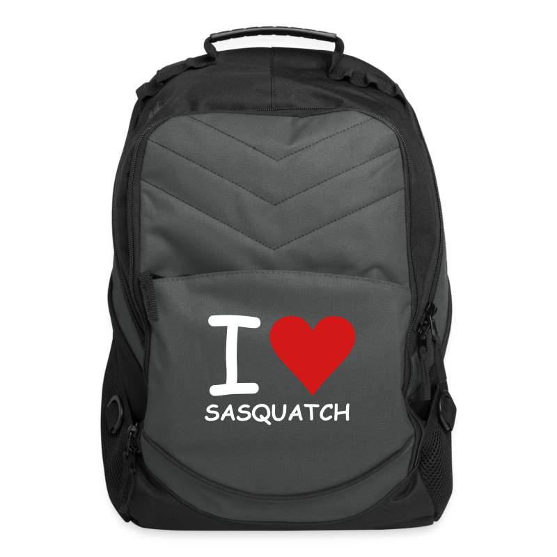 I Love Sasquatch Bigfoot Laptop Backpack