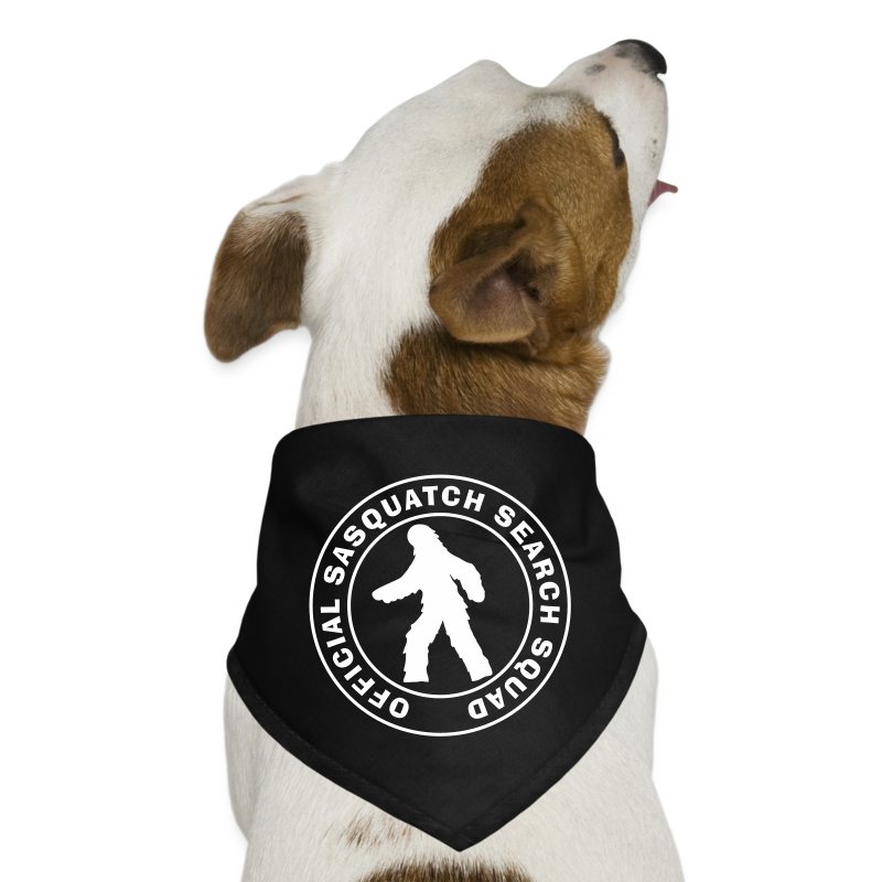 Official Sasquatch Search Squad Bigfoot Dog Bandanna