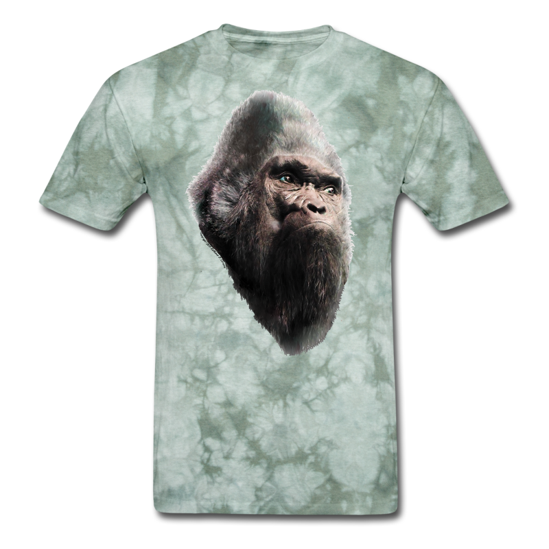 Sasquatch Bigfoot Vintage Shirt - Tie-Dye Shirt