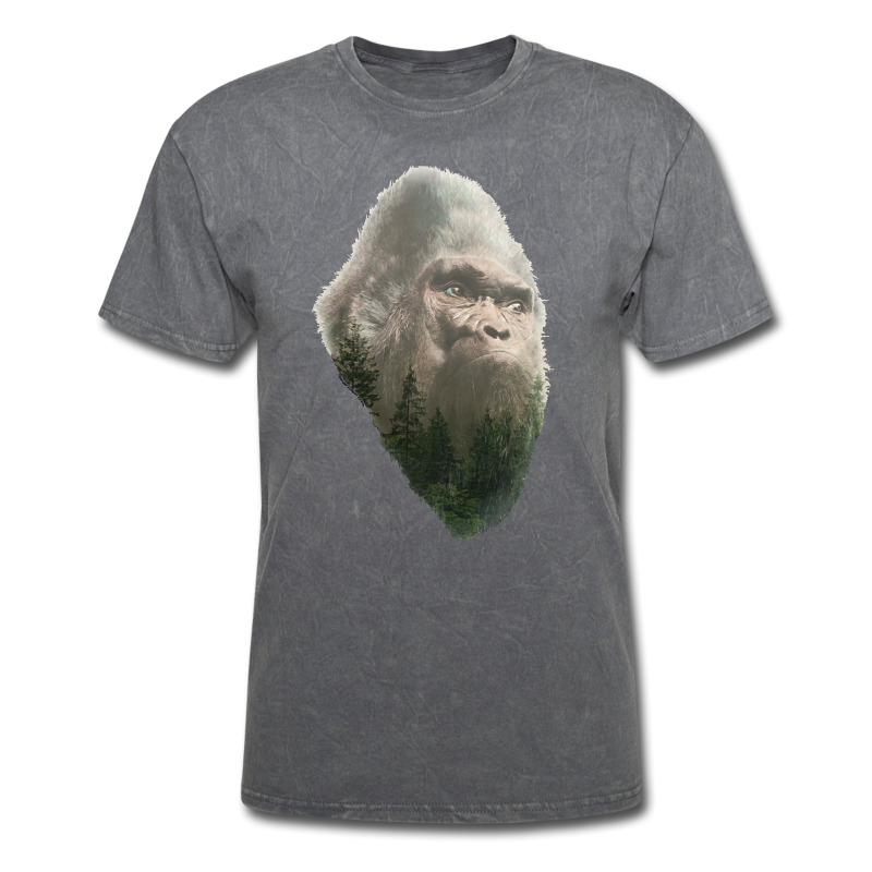 The Forest King Bigfoot or Sasquatch Shirt - Adult Standard Shirt
