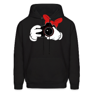 Hoodies ~ Men's Hooded Sweatshirt ~ Bow DSLR