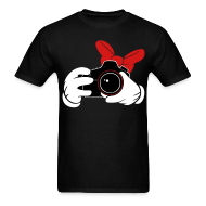 T-Shirts ~ Men's Standard Weight T-Shirt ~ Bow DSLR