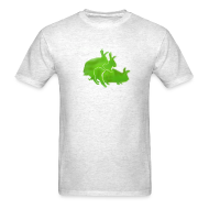 T-Shirts ~ Men's Standard Weight T-Shirt ~ Ilegal Rabbits