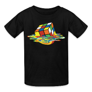 Kids' Shirts ~ Kids' T-Shirt ~ Melting Cube