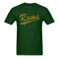 T-Shirts ~ Men's Standard Weight T-Shirt ~ Rams - Mens