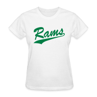 Women's T-Shirts ~ Women's Standard Weight T-Shirt ~ Rams - Ladiess