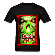T-Shirts ~ Men's Standard Weight T-Shirt ~ mens - dead zombie face