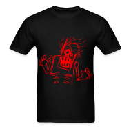 T-Shirts ~ Men's Standard Weight T-Shirt ~ mens - zombie doodle