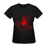 Women's T-Shirts ~ Women's Standard Weight T-Shirt ~ womens - zombie doodle