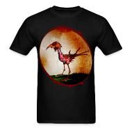 T-Shirts ~ Men's Standard Weight T-Shirt ~ mens - zombie chicken