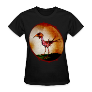Women's T-Shirts ~ Women's Standard Weight T-Shirt ~ womens - zombie chicken