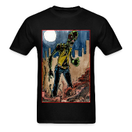 T-Shirts ~ Men's Standard Weight T-Shirt ~ mens - zombie in ruins
