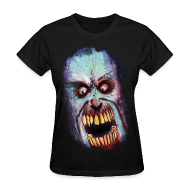 Women's T-Shirts ~ Women's Standard Weight T-Shirt ~ womens - zombie scream