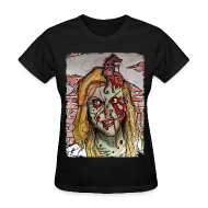 Women's T-Shirts ~ Women's Standard Weight T-Shirt ~ womens - zombie rat head