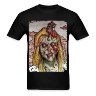 T-Shirts ~ Men's Standard Weight T-Shirt ~ mens - zombie rat head