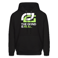 Hoodies ~ Men's Hooded Sweatshirt ~ The GRIND is REAL!