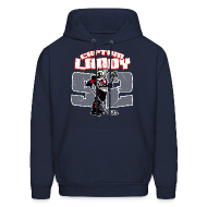 Hoodies ~ Men's Hooded Sweatshirt ~ Captain Landy - Hoodie