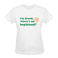 Women's T-Shirts ~ Women's Standard Weight T-Shirt ~ I'm Drunk T-Shirt