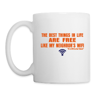 Bottles & Mugs ~ Coffee/Tea Mug ~ George Takei says It's OK to be Takei! with this WiFi Mug