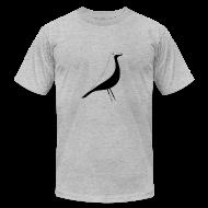 T-Shirts ~ Men's T-Shirt by American Apparel ~ birdy black