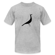 T-Shirts ~ Men's T-Shirt by American Apparel ~ birdy black
