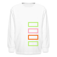 Kids' Shirts ~ Kids' Long Sleeve T-Shirt ~ Bar Trim