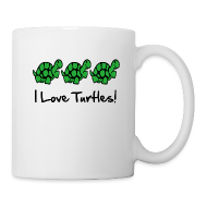 Bottles & Mugs ~ Coffee/Tea Mug ~ 3 Turtles Mug