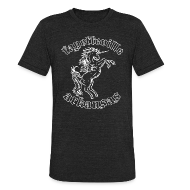 T-Shirts ~ Men's Tri-Blend Vintage T-Shirt ~ Fayetteville Unicorn - triblend