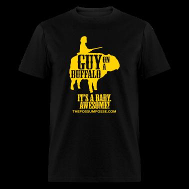 The Possum Posse Guy on a Buffalo-Baby MP T-Shirts