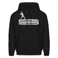 Hoodies ~ Men's Hooded Sweatshirt ~ Old Southside Baseball