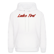 Hoodies ~ Men's Hooded Sweatshirt ~ Ladies First Hoodie