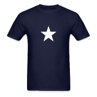 T-Shirts ~ Men's Standard Weight T-Shirt ~ Captain America Star